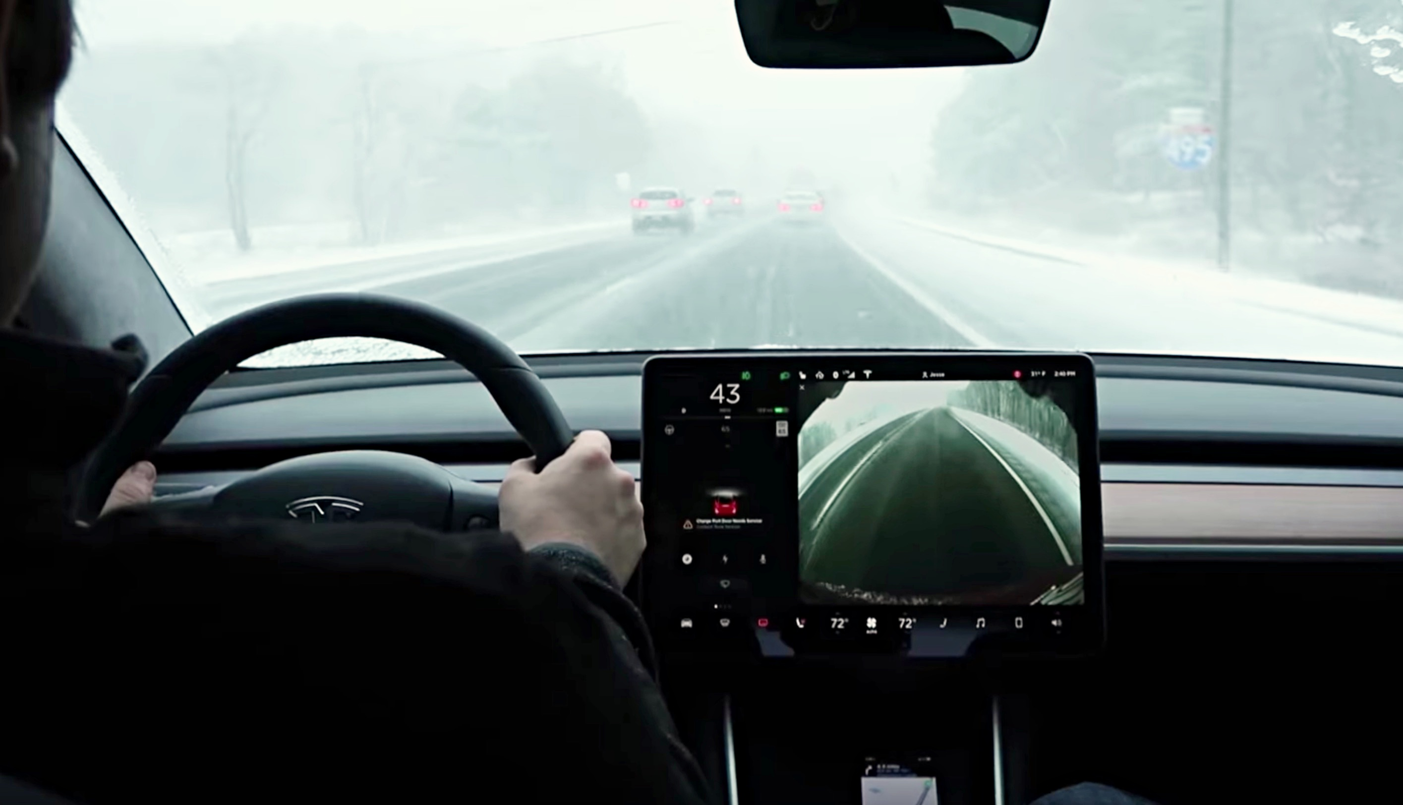 xử lý thời tiết xấu khi lái xe đường dài