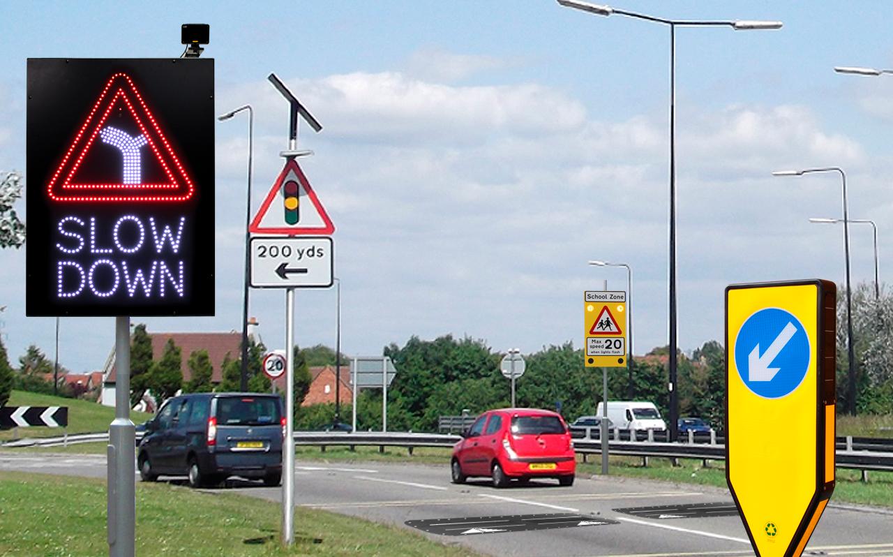 chú ý biển báo giao thông trong kinh nghiệm lái xe đường dài